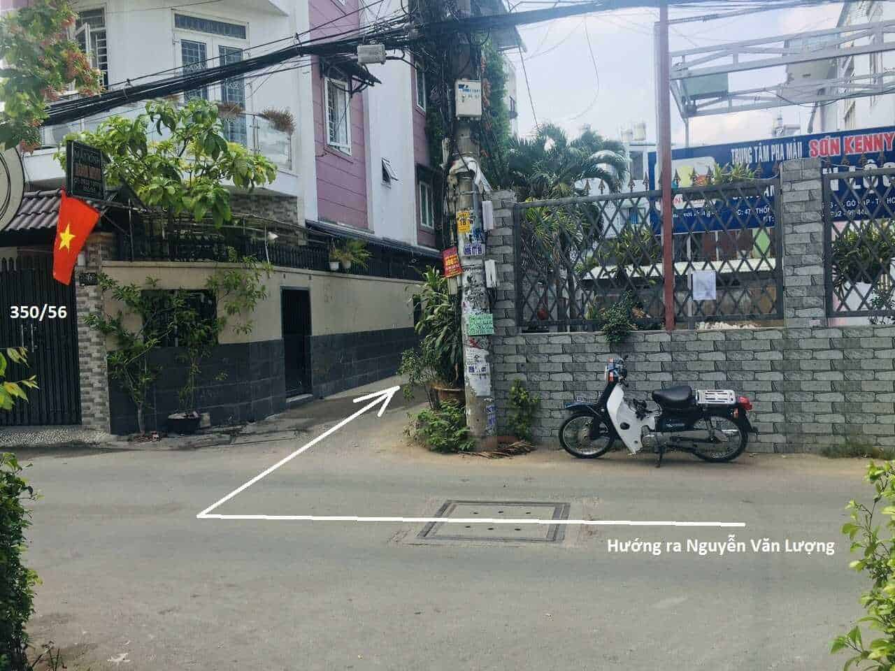 Bán lô đất đường Nguyễn Văn Lượng, phường 16, quận Gò Vấp